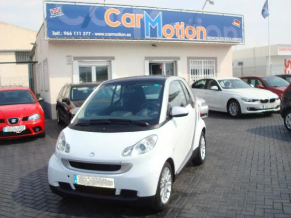 SMART FORTWO 52 MHD PASSION .